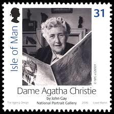 Agatha Christie Stamp 1
