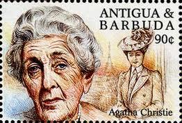Agatha Christie Stamp 2