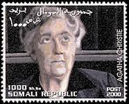 Agatha Christie Stamp 3