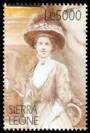 Agatha Christie Stamp 4