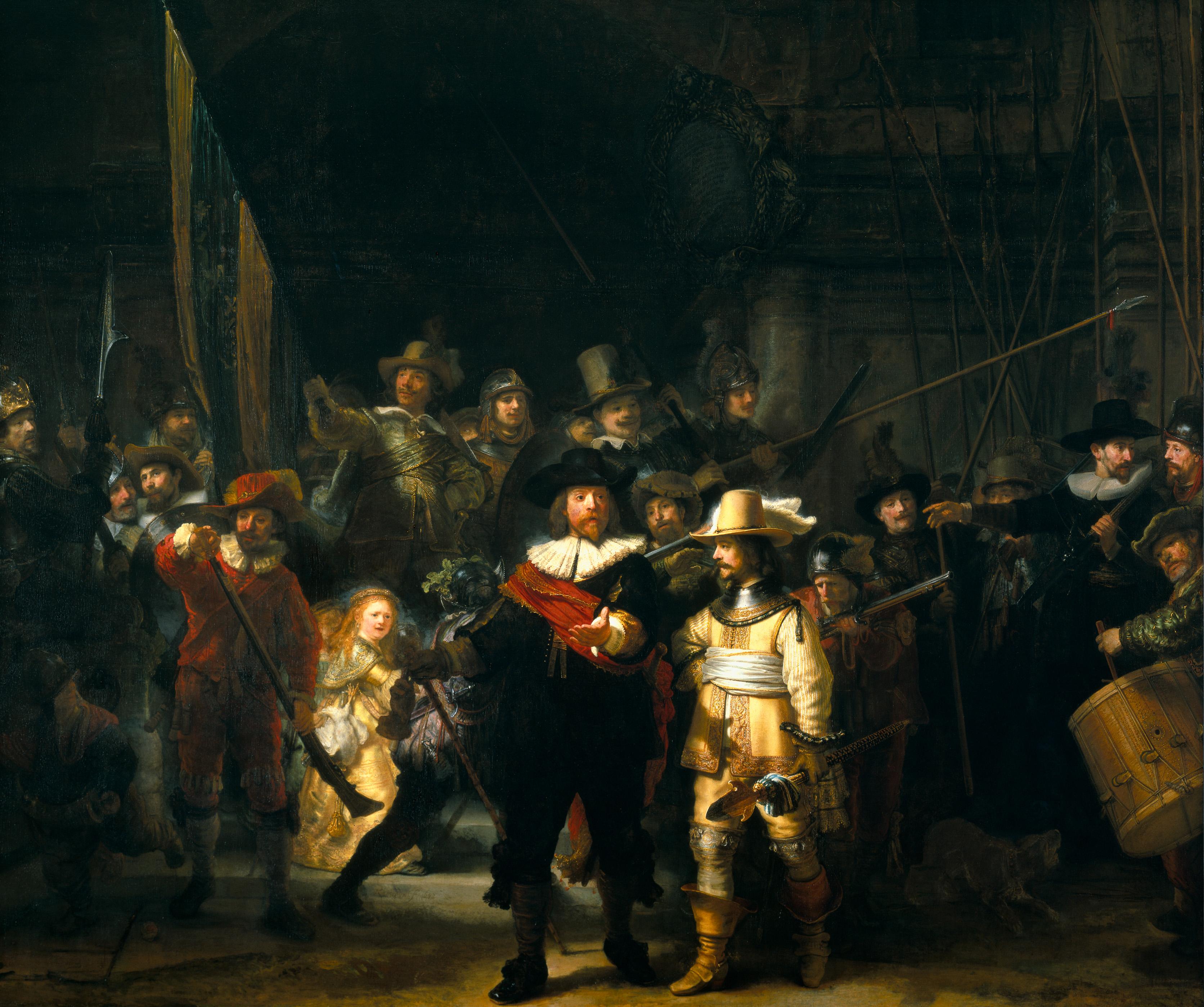 Noćna straža 1642.