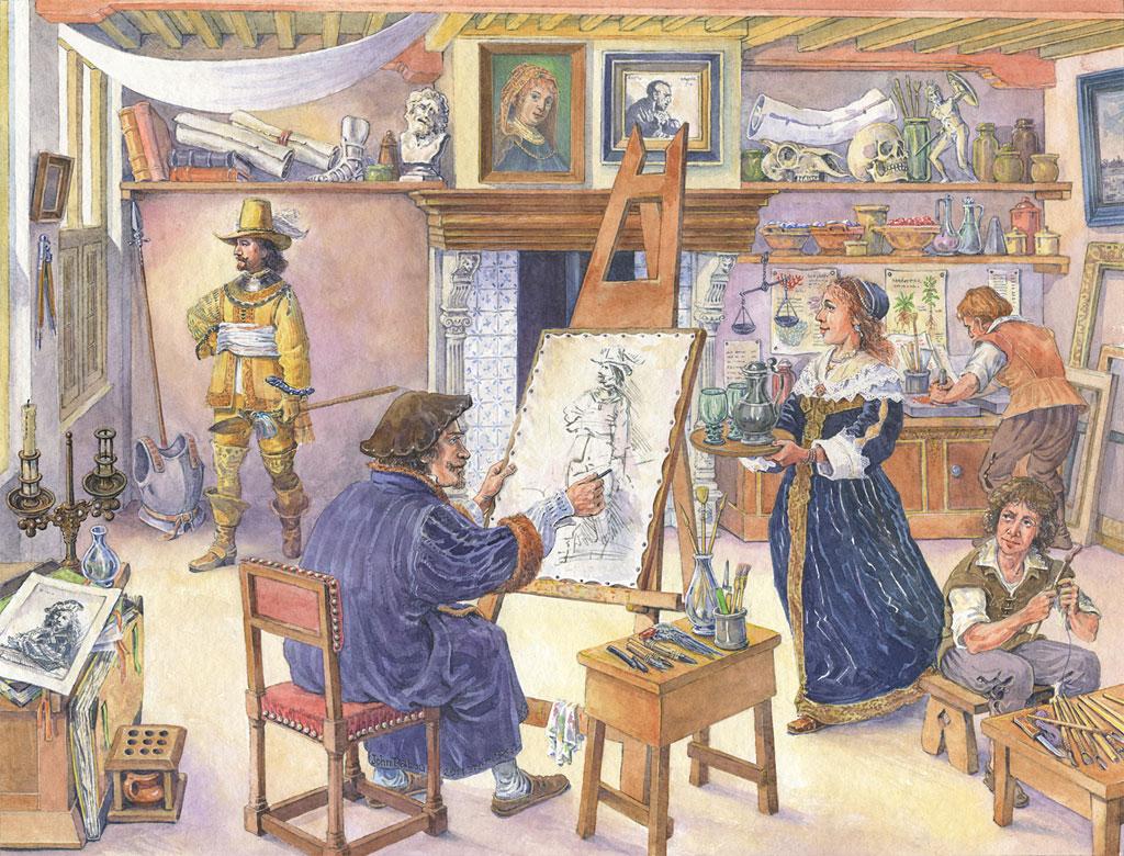 Rembrandtov atelier