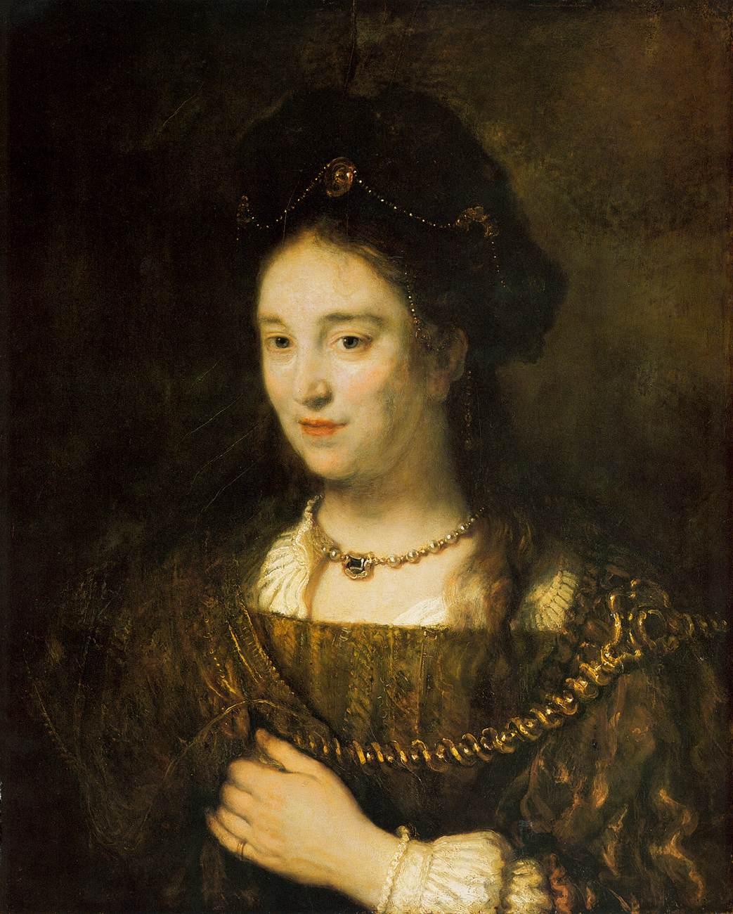 Saskia van Uylenburgh 1643.