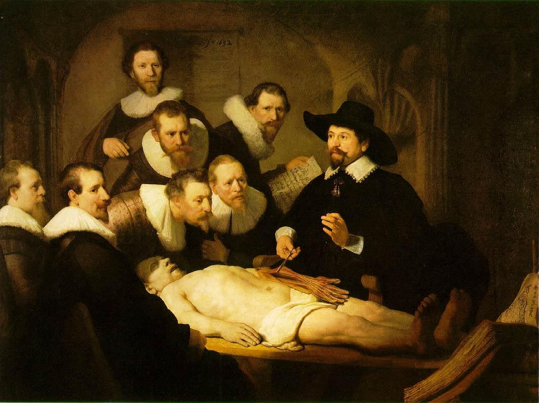 Sat anatomije dr. Tulpa