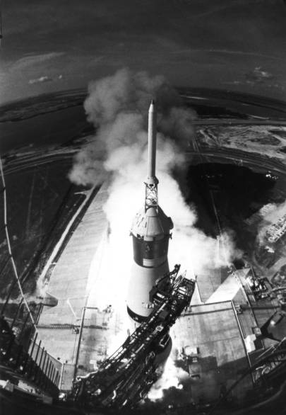 Saturn V and the Eagle 1969